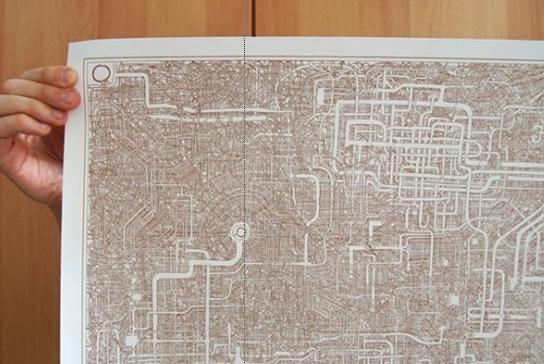 日本惊现超复杂迷宫图