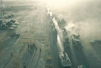 伊拉克重兵集结围攻摩苏尔