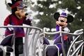 东京迪士尼办万圣节活动 游客扮童话角色参观