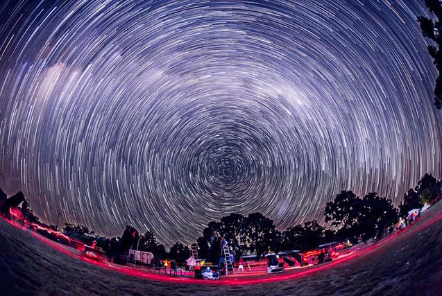 最美星空!浩瀚宇宙天文奇观美到不可思议