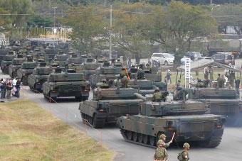 日本陆自精锐武器悉数登场