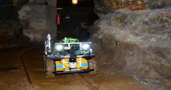 德国高校研发采矿机器人,安全省钱两不误