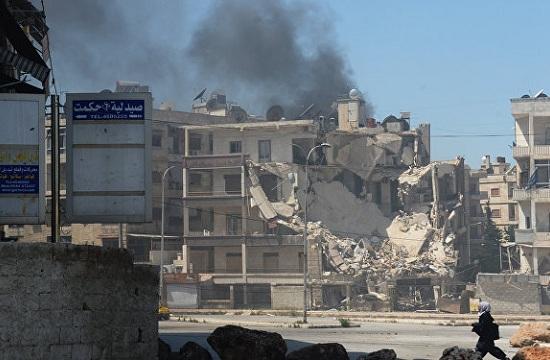 阿勒颇受袭 俄方宣布暂时停火