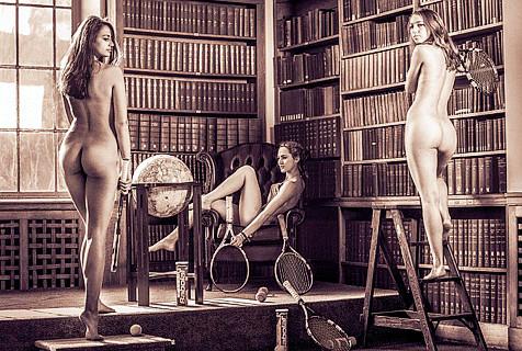 剑桥大学体育生拍裸体慈善写真