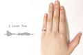 独一无二的浪漫!3D打印将情话制成声纹戒指