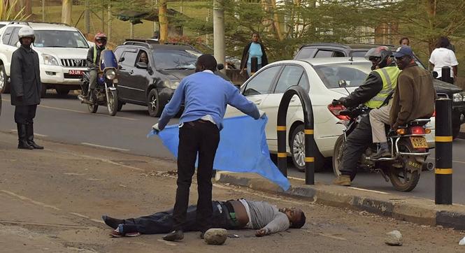 男子刺伤美国驻肯尼亚使馆警官后被击毙 同伙逃离