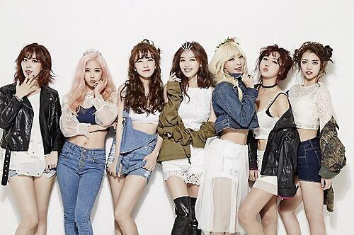 韩女团RAINBOW出道7年 正式解散