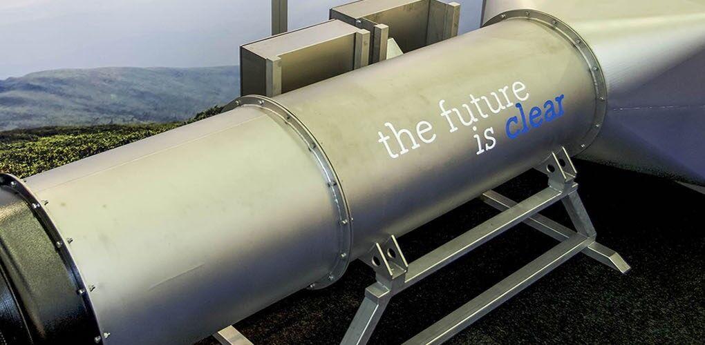 荷兰发明超大空气清净机 可过滤方圆三百米内污物