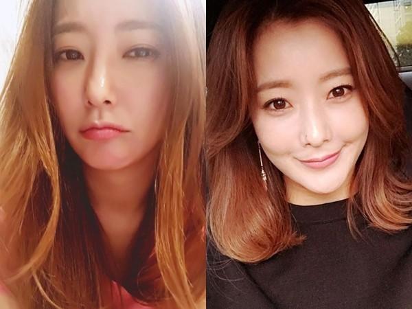 韩国第一美女金喜善晒少女照 天然美破整型谣言