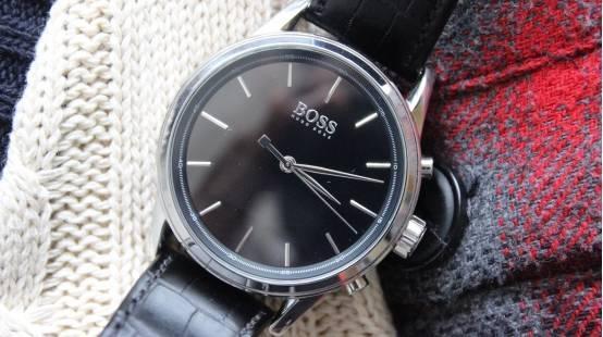 Hugo Boss智能手表评测 大牌也来玩智能