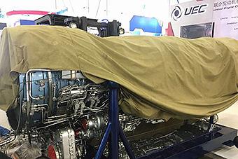 AL31发动机半遮半露亮相珠海