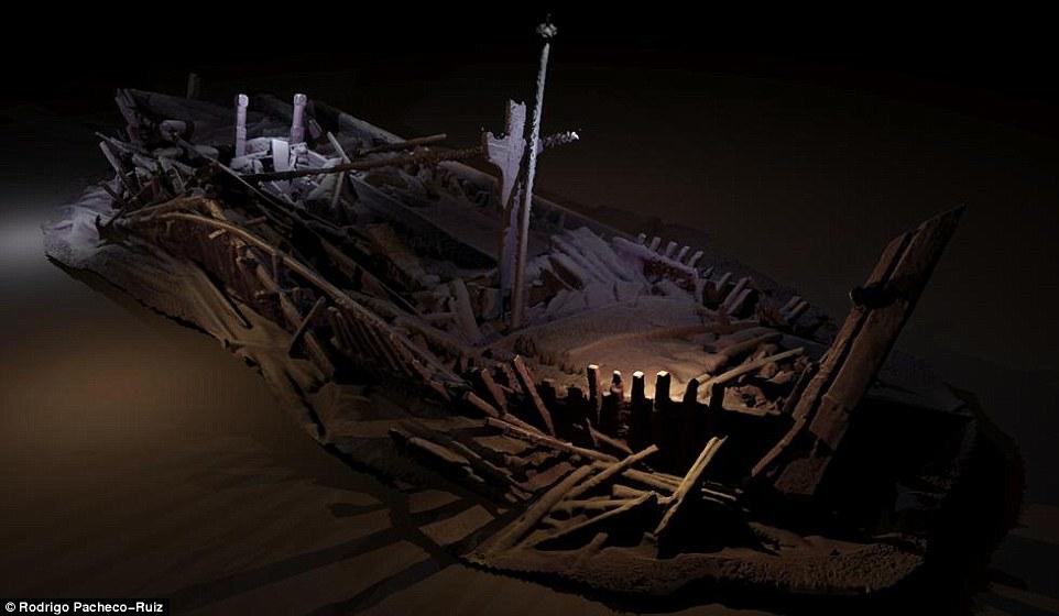 """黑海发现大批""""幽灵沉船"""" 可追溯到占庭时期"""