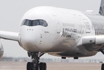 空客最新客机现身珠海航展