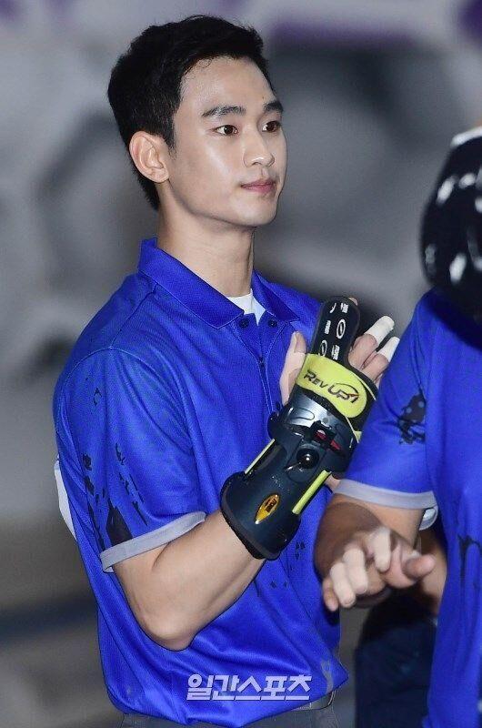 金秀贤专业保龄球选手梦碎 称参赛系挑战自我