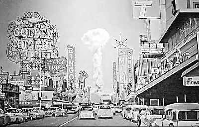 美国人曾疯狂迷恋核爆炸:选美都要和核沾边