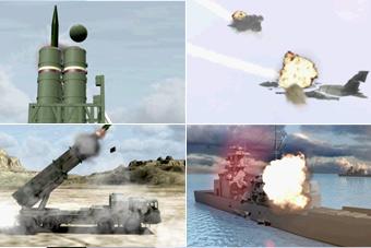 国产武器平台演示 打爆美军战机