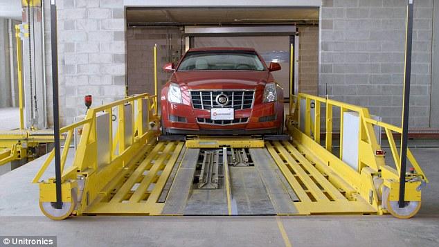 犹尼康推行自动泊车系统 自动台车助力司机泊车