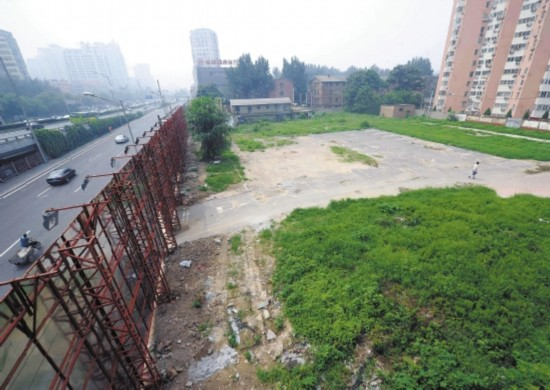 武汉中心城区多宗地块晒地皮 一地块闲置长达20年