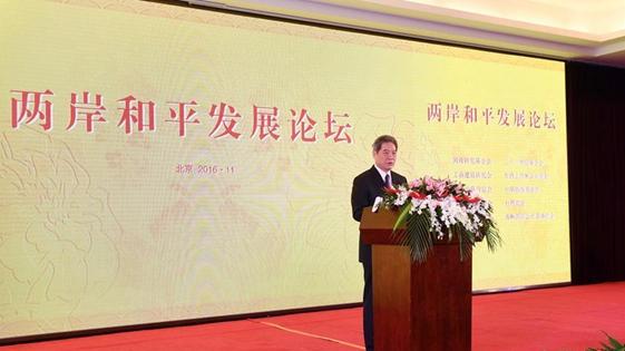 两岸和平发展论坛在京开幕