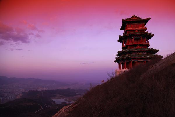 印象潭柘--一览京城定都峰