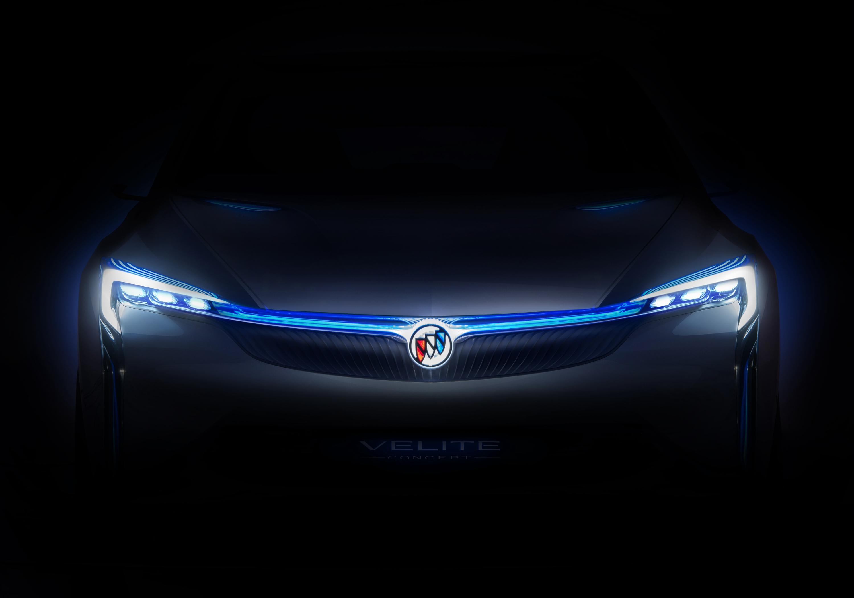 别克Velite新能源概念车将于2016广州车展全球首发