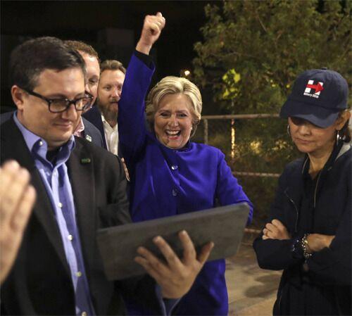 摇摆?曾预测希拉里获胜《华盛顿邮报》:特朗普也可能赢