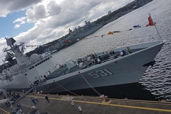 中俄最强护卫舰对比:054A取胜