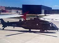 直20通用直升机现身高原机场