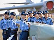 空军解说员颜值高成航展焦点