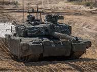 英国为挑战者坦克披毯子伪装