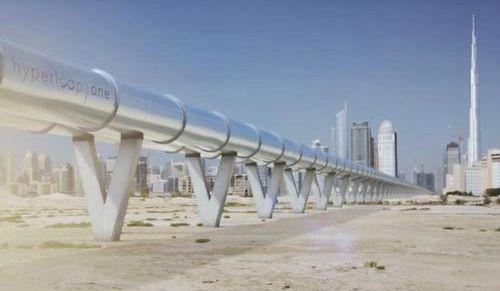 美超级高铁公司或在迪拜建全球首条超级高铁项目