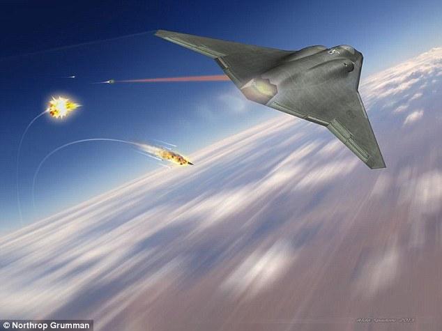 美军亮黑科技 新型激光武器2019年将投入测试