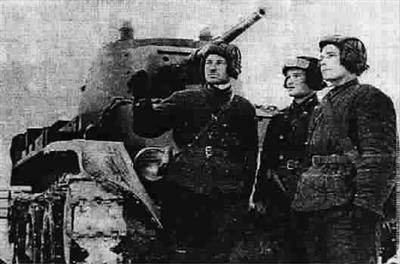 苏军坦克旅8天击毁德坦克133辆歼灭步兵1个团