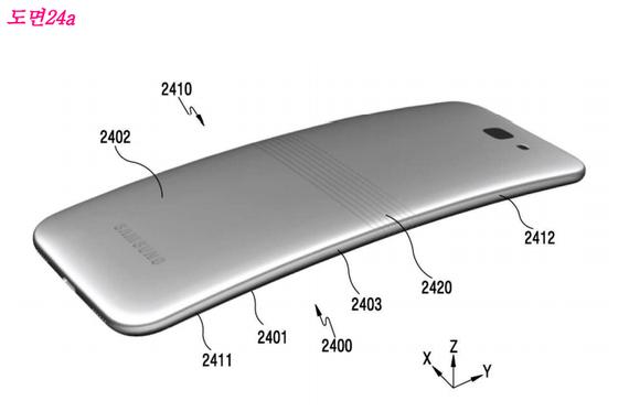 三星有望明年推出可折叠手机 已申请专利