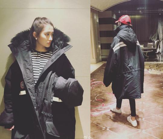 双11必买关晓彤刘雯同款派克大衣 秋裤也能省了?