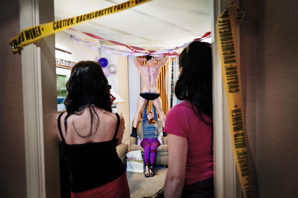 美国单身聚会,新娘最后一夜的疯狂