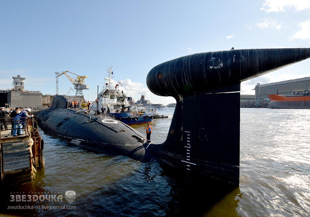 俄两艘核潜艇升级改造即将完成