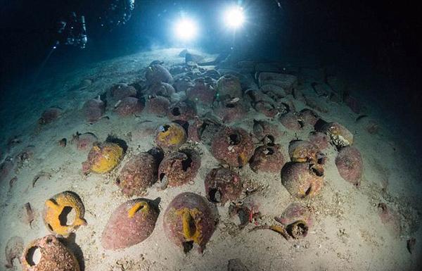 地中海古沉船现多地工艺品 有望揭秘腓尼基人商路