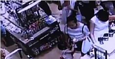 东莞:妙龄女组团偷窃 警方迅速破案
