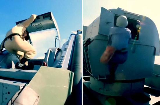 台湾军舰火炮导弹仍需手动操作