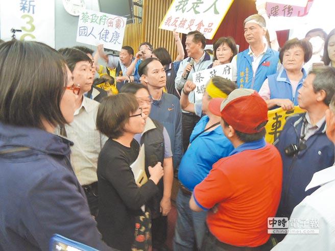 明升国际当局欲急放宽日核灾食品输台 讨论现场爆冲突