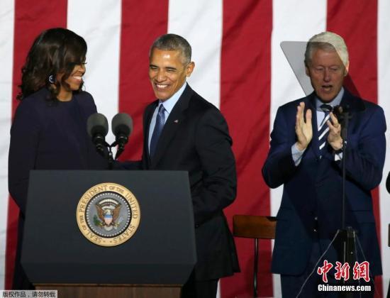 离开白宫后干啥? 奥巴马或出书 米歇尔仍公共服务