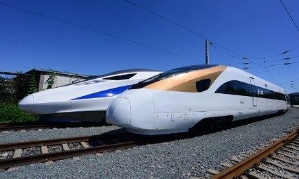 """中国""""土豪金""""标准动车组将量产:性能超日新干线"""