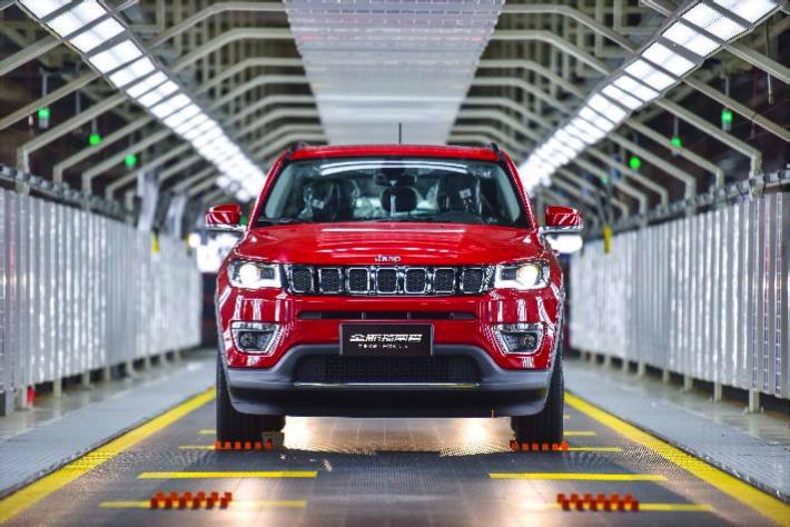 专业级新中产家庭SUV全新Jeep指南者正式下线