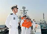 中国海军抵达巴基斯坦参加联演