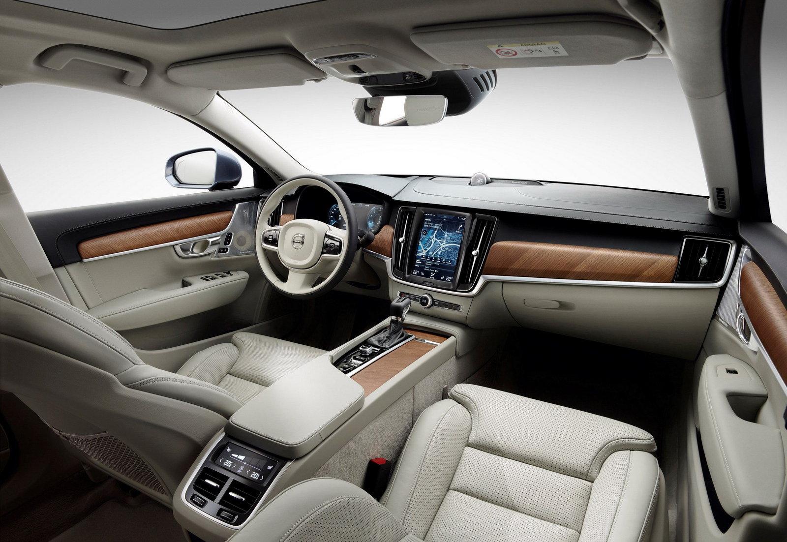 全新国产沃尔沃S90L亮相广州车展 主流外媒好评如潮高清图片