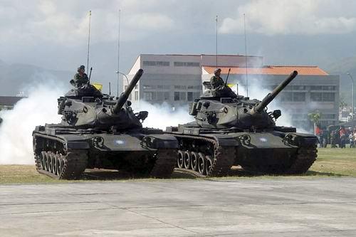 台媒:台美正洽谈采购M-1A1坦克 不会买F-35B
