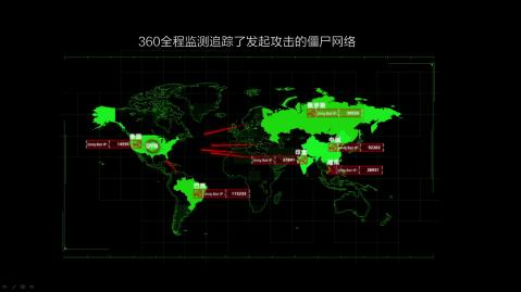 美国断网事件求助中国 360成唯一参与中国机构