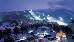 龙平滑雪场 滑雪爱好者的天堂