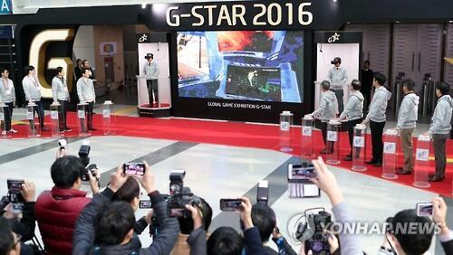 韩最大游戏展G-STAR开幕 中国手游成功打入韩市场